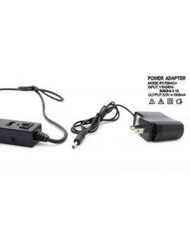 7-Port USB 2.0 Hub w/ AC Power Charger (Black)