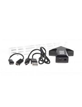 GT-132-BK Arrow Shaped 4-Port OTG USB 2.0 Hub