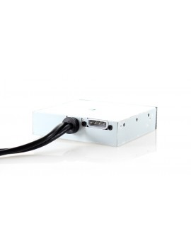 "3.5"" Internal PCI-E Multi-card reader with Powered 4-Port USB 3.0 Hub Combo"