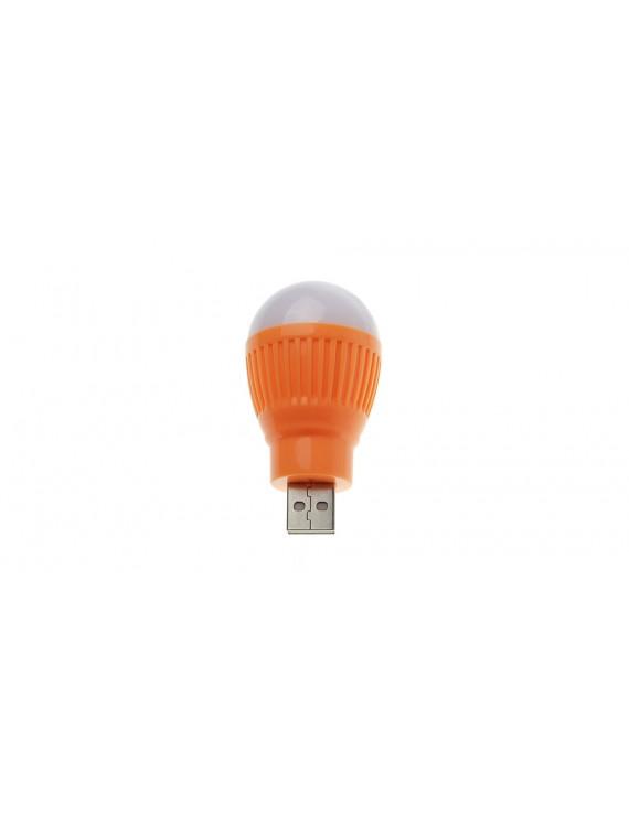 LZZ USB Powered 2W 1*LED Pure White Mini LED Night Lamp