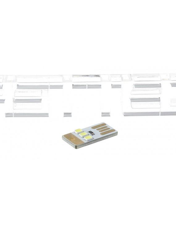 Mini USB Powered 0.25W 3*2835 5000K Pure White LED Light Lamp