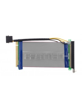 PCIe 16X to 16X Riser Card Adapter Flexible Extension Cable (15cm)