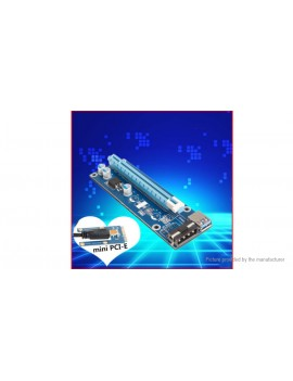 Mini PCIe to PCIe Adapter Card for Bitcoin Miner