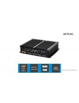 HYSTOU FMP04B Dual-Core Fanless Mini PC (64GB/UK)